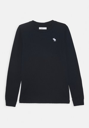 BASIC - Langærmede T-shirts - navy