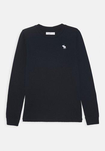 BASIC - Maglietta a manica lunga - navy