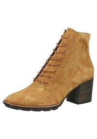 Paul Green - Ankle boots - cognac-braun 027 - 3