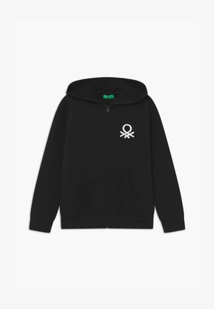BASIC GIRL - Zip-up hoodie - black