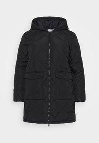 Noisy May Curve - NMFALCON LONG JACKET - Winter jacket - black - 4
