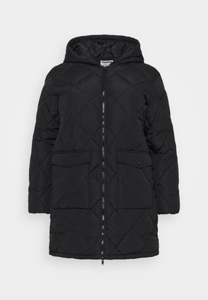 NMFALCON LONG JACKET - Winter jacket - black