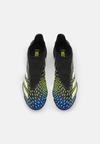 adidas Performance - PREDATOR FREAK .3 LL TF UNISEX - Astro turf trainers - core black/footwear white/solar yellow - 3