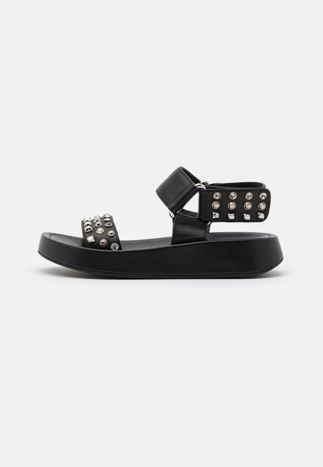 TOPAZ - Platform sandals - nero