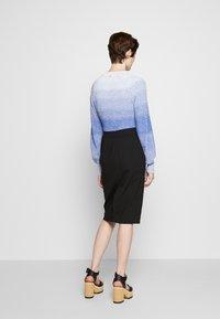 Emporio Armani - Pencil skirt - black - 2