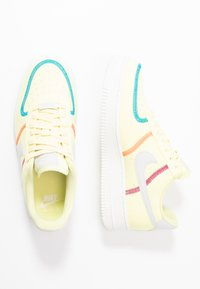 Nike Sportswear - AIR FORCE 1 - Trainers - life lime/summit white/laser blue/hyper orange/cactus flower - 3
