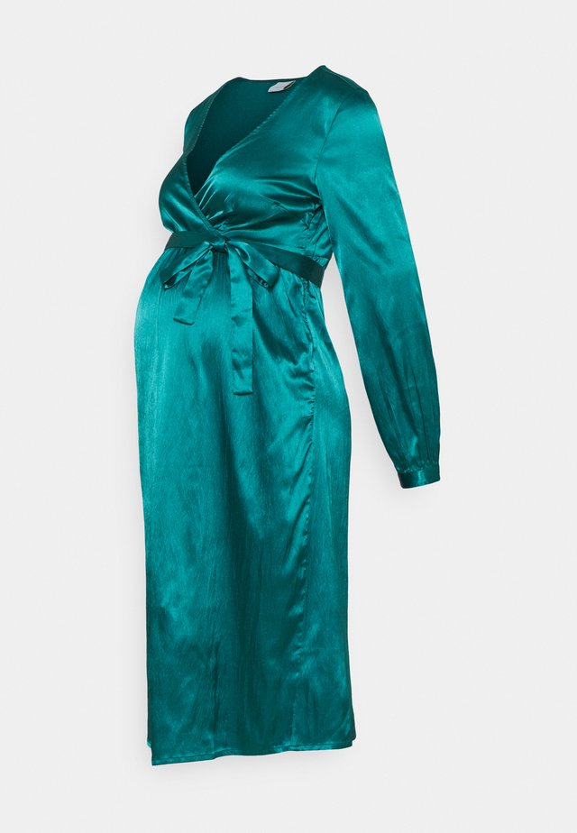 MLSHELBY DRESS - Cocktail dress / Party dress - deep teal