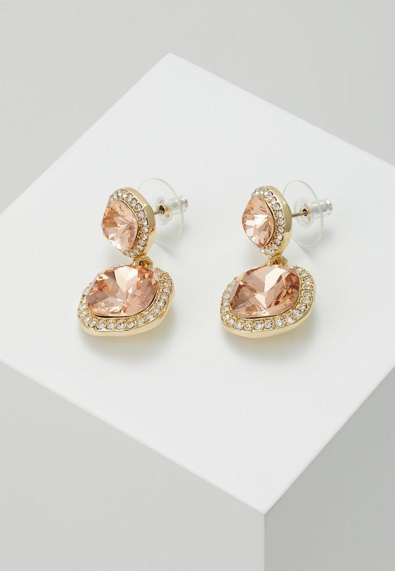 SNÖ of Sweden - LYONNE PENDANT EAR  - Øredobber - peach