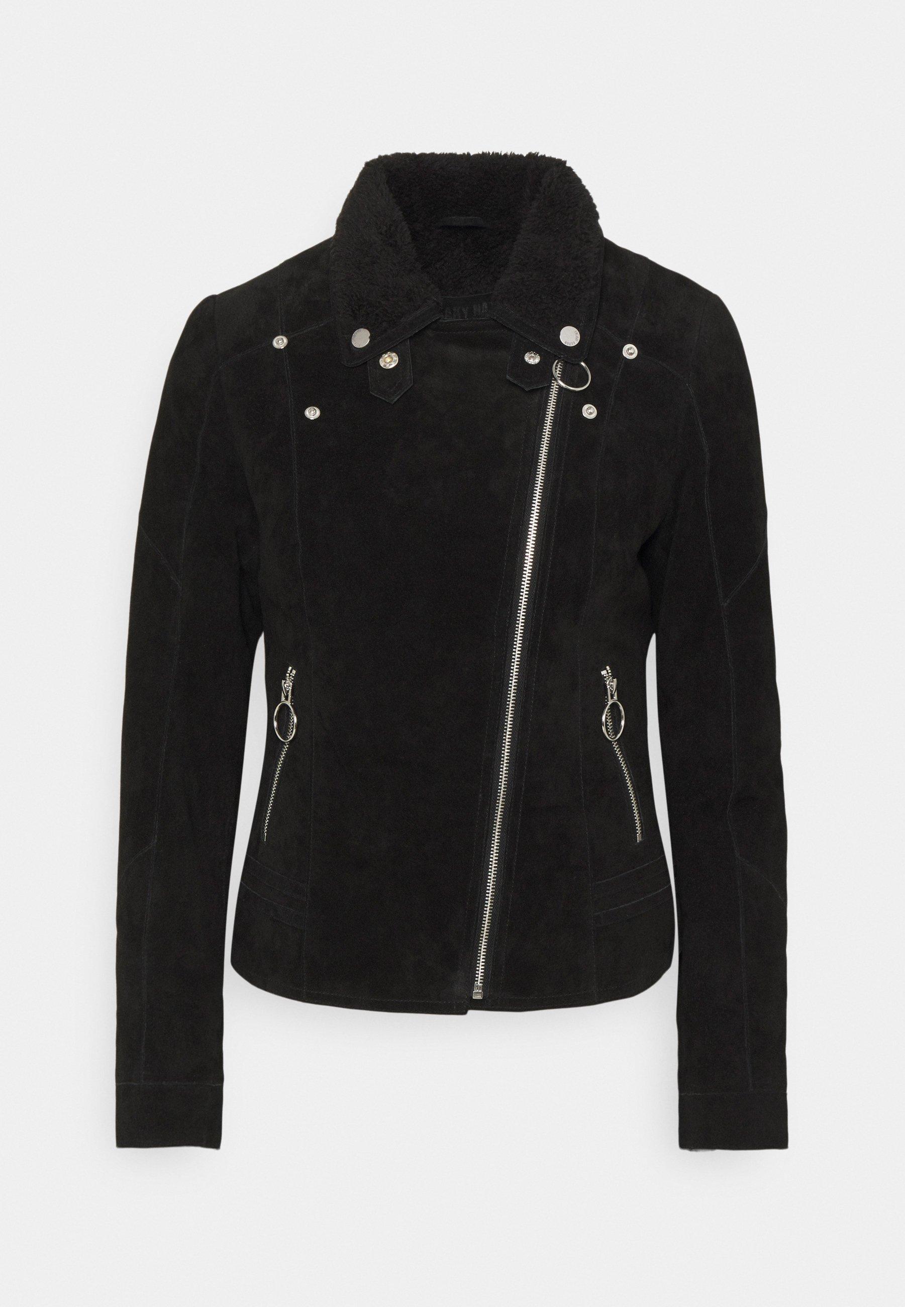 Women EARLY WINTER - Leather jacket