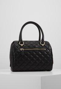 Guess - MELISE BOX SATCHEL - Handbag - black - 2