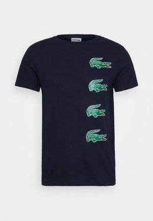 T-shirt imprimé - marine