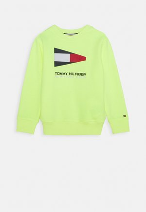 SAILING FLAG GRAPHIC - Sweater - yellow