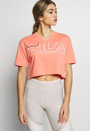 LEDA - T-Shirt print - shell pink
