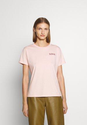 THE REGULAR TEE - Basic T-shirt - light/pastel pink