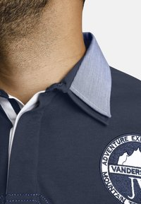 Jan Vanderstorm - JELLE - Polo shirt - dark blue - 3