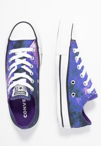 Converse - CHUCK TAYLOR ALL STAR MISS GALAXY - Trainers - black/court purple/white - 3