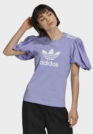 Dry Clean Only xPUFF SLEEVE TEE - Print T-shirt - light purple