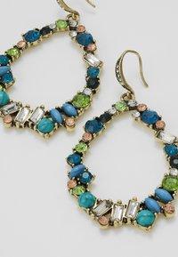 sweet deluxe - Earrings - antikgold-coloured/blau/peach - 4