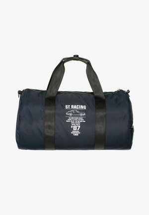 Sports bag - dark-blue plain