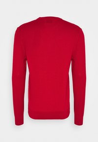 PS Paul Smith - MENS CREW NECK ZEBRA - Jumper - red - 1