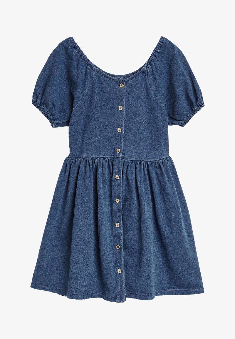Next - Vestido vaquero - blue denim