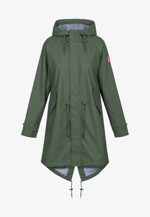 TRAVEL FRIESE FISHER - Parka - olive
