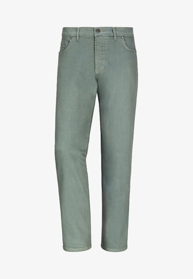 GUNNAR - Straight leg jeans - green