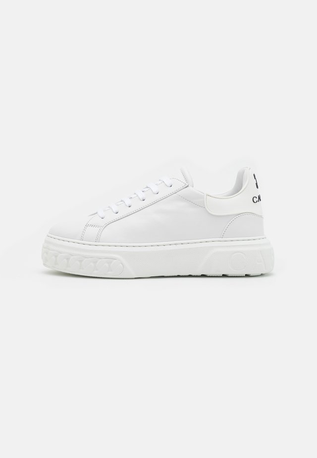 Sneakers laag - nero/bianco