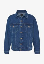 MENNACE SIGNATURE WESTERN - Kurtka jeansowa - blue