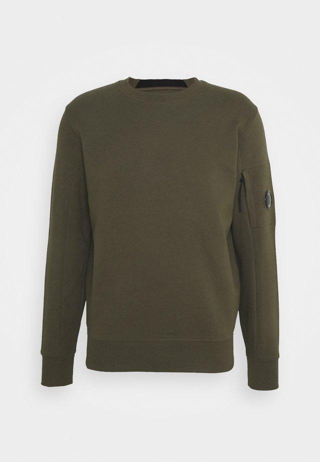 CREW NECK - Sweater - ivy green
