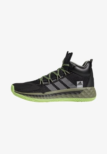 PRO BOOST MID SHOES - Basketball shoes - black