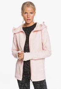 Roxy - ELECT FEELIN - Fleece jacket - silver pink - 4