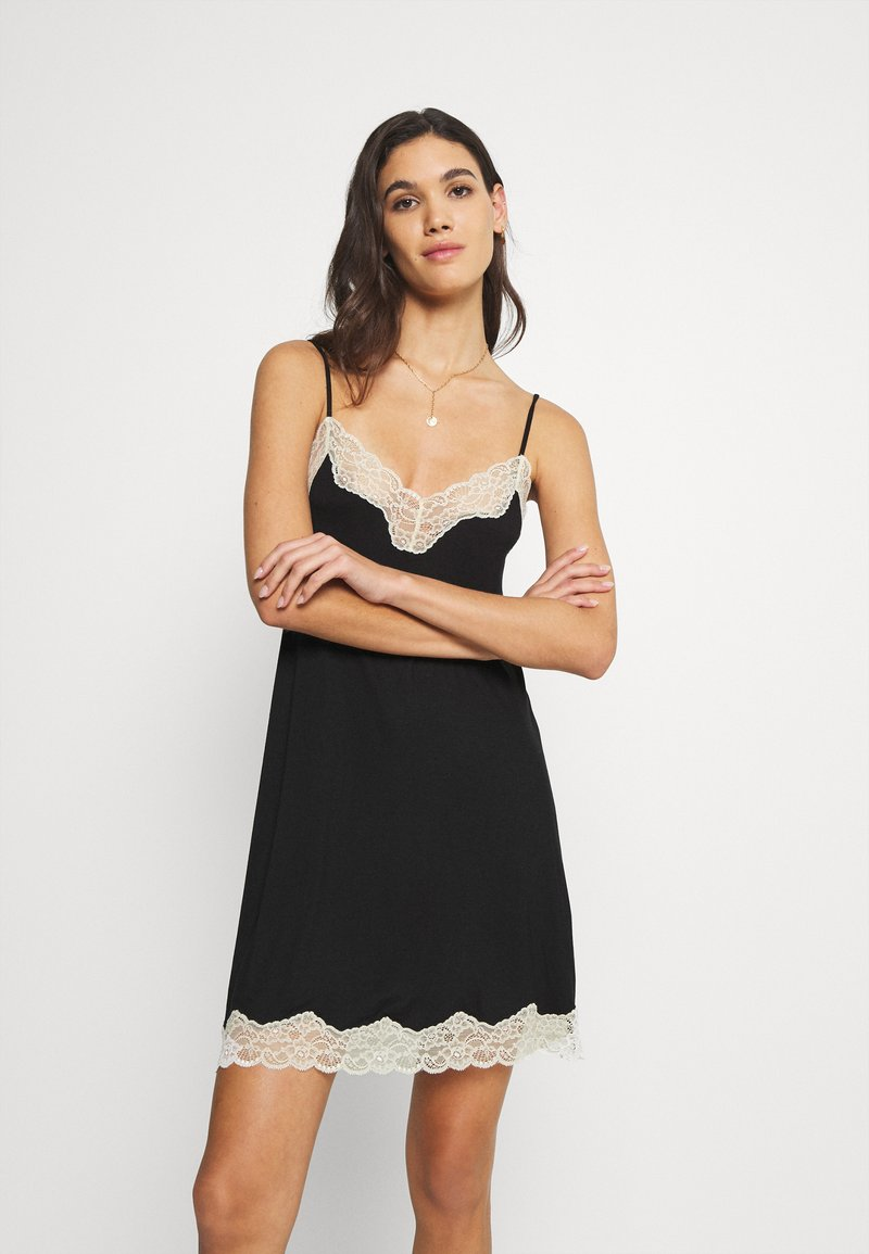 Benetton - DRESS - Nightie - black