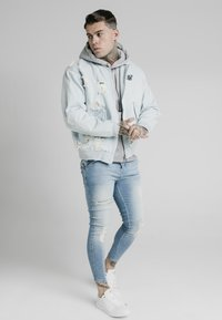 SIKSILK - Chaqueta vaquera - light blue - 3