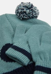 Color Kids - HAT SET UNISEX - Beanie - mineral blue - 3