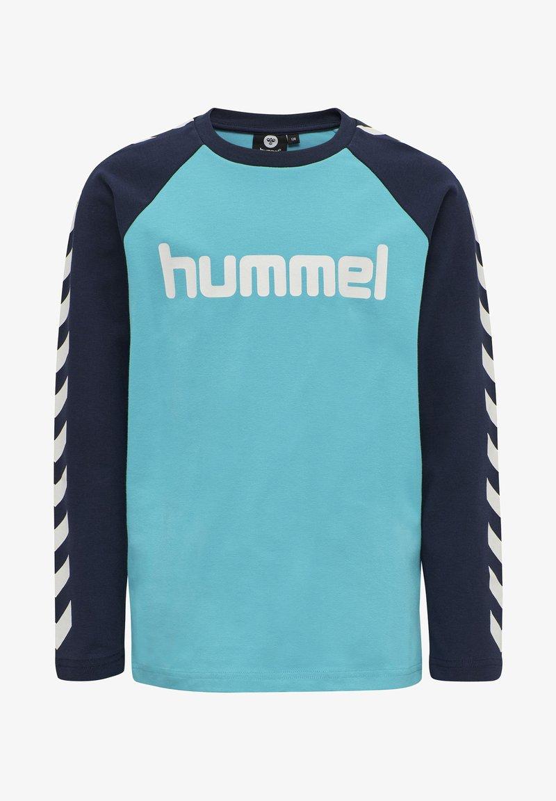 Hummel - Langarmshirt - scuba blue