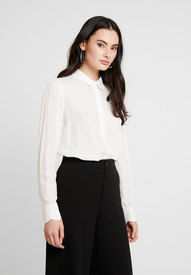 ZUNI - Button-down blouse - white