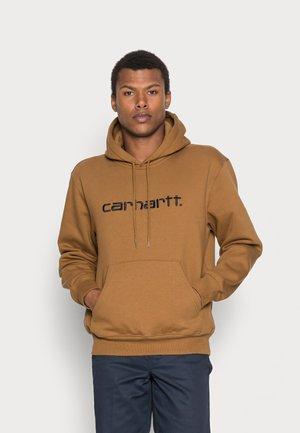HOODED CARHARTT  - Huppari - hamilton brown/black
