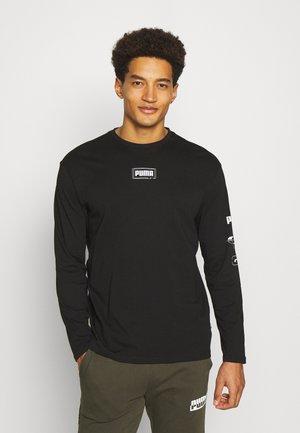 REBEL TEE - Long sleeved top - black