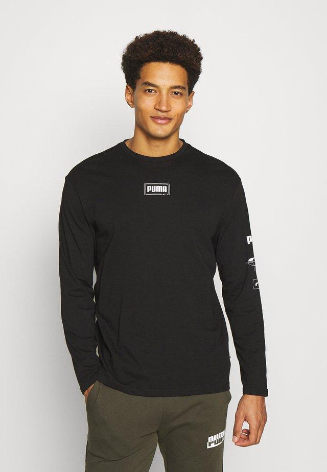 REBEL TEE - Langarmshirt - black
