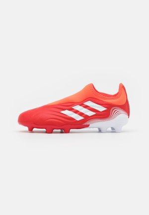 COPA SENSE.3 LL FG UNISEX - Tekonurmikengät - red/footwear white/solar red
