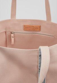 Vanessa Bruno - CABAS MOYEN - Shopping Bag - rose/argent - 4