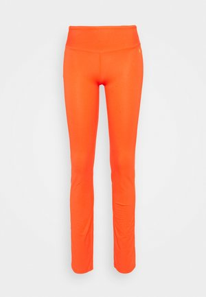 FIT PANTS - Leggings - coral red