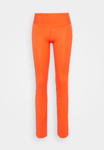 TIGHT PANTS - Tracksuit bottoms - coral red