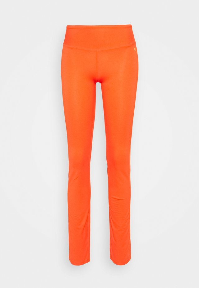 FIT PANTS - Collants - coral red
