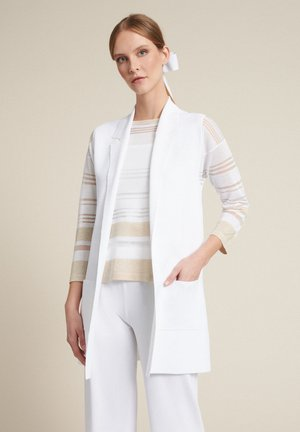 Veste sans manches - bianco