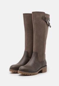 Anna Field - Vysoká obuv - grey - 2