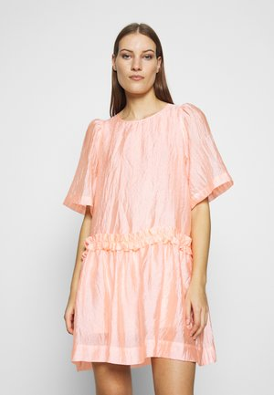 Day dress - candy coral