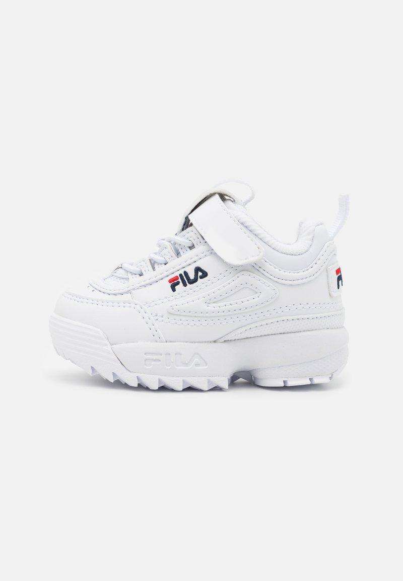 Fila - DISRUPTOR INFANTS UNISEX - Sneaker low - white