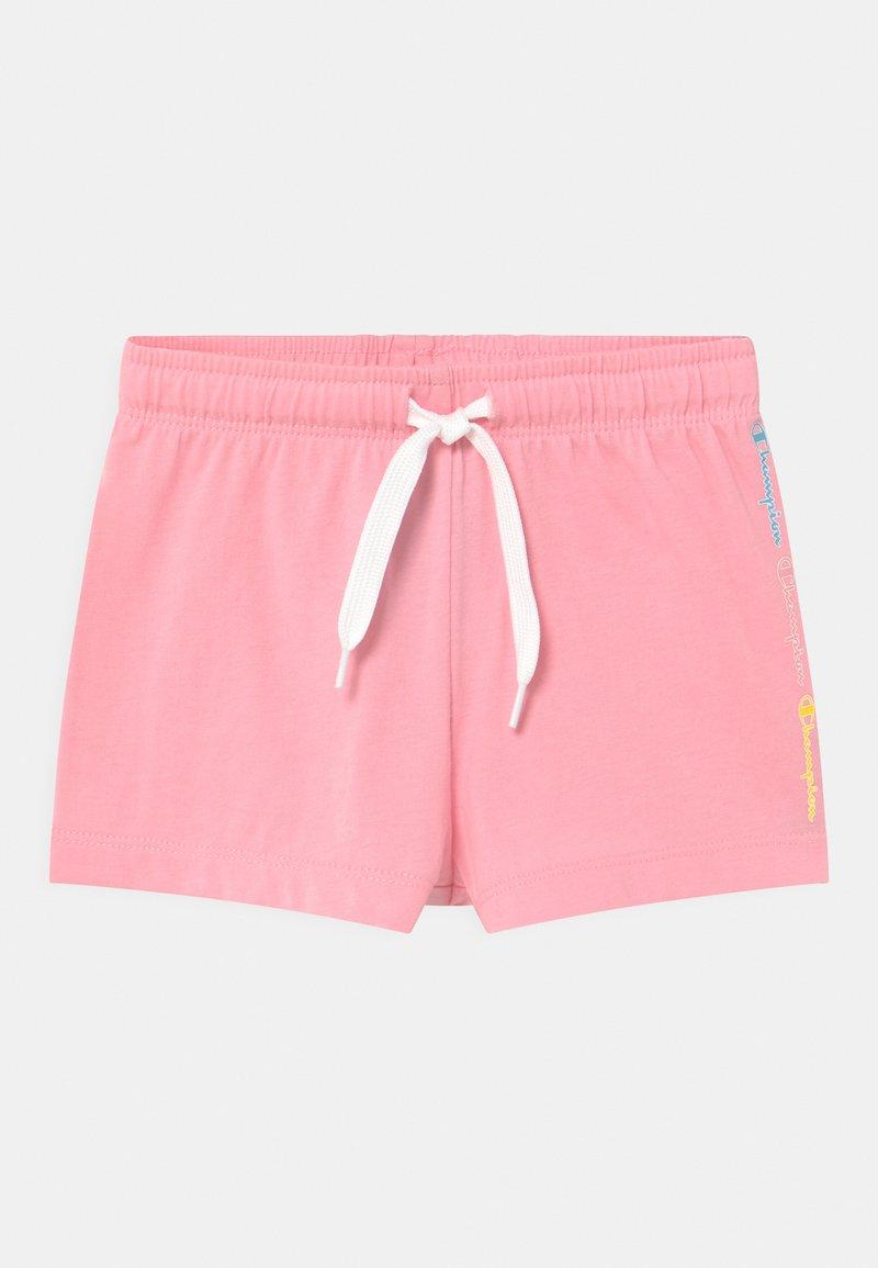 Champion - COLOR LOGO UNISEX - Sports shorts - pink